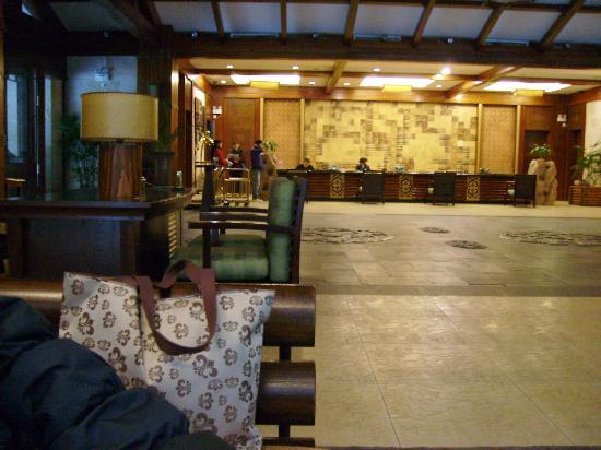 Spa Vacation Centre: 不知为何没有拍下房间内景,只有大堂照片了