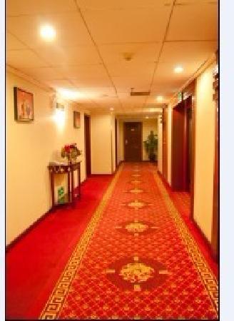 Tianhao Chain-like Hotel : 楼层过道