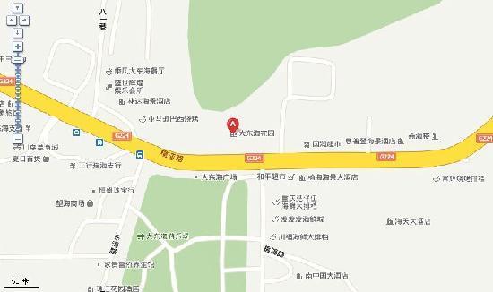 Lanse Hai'an Resort House : 地理位置