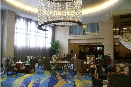 Chengdu Tianren Grand Hotel: 堂吧一角