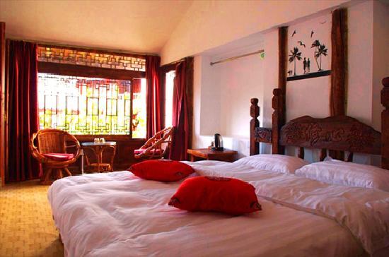 Qiwei Shenghuo Yard Gucheng Branch Inn : 情侣蜜月房