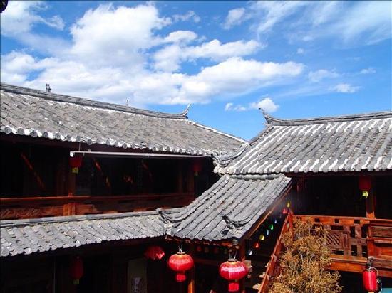 Qiwei Shenghuo Yard Gucheng Branch Inn : 客栈外视图