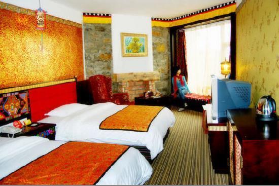 Dazang Guge Wangchao Hotel: 酒店房间