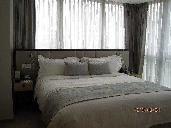 โรงแรมเฟรเซอร์สวีทส์ซูโจว: 主卧