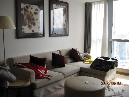 โรงแรมเฟรเซอร์สวีทส์ซูโจว: 客厅