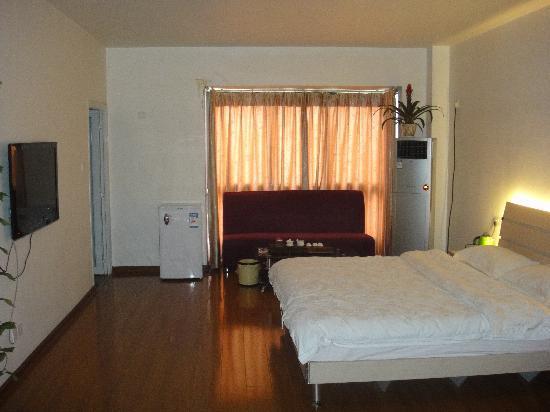Haolaiwu Villa Apartment: 豪华大床房