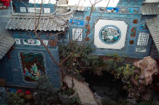 Haiyuelou hostel: 典型白族院落