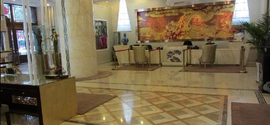 Ruida Boutique Business Hotel Lanzhou Heping: 酒店大堂