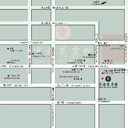 Jing Du Yuan Hotel: MAP