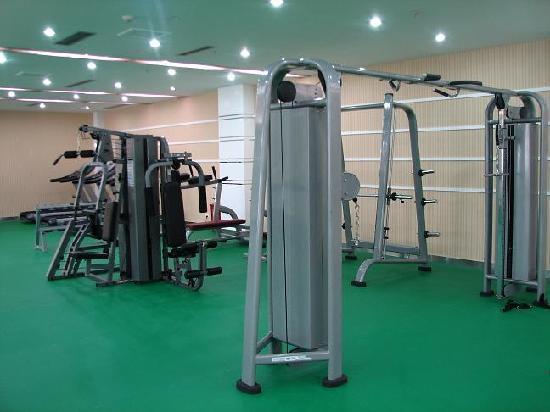 Lichuan International Hotel: 健身房