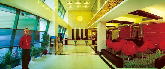 Zijinghua City Chain Hotel Guilin Jinwan: 大堂