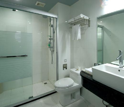 Zijinghua City Chain Hotel Guilin Jinwan: 浴室