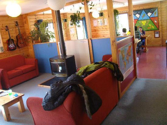 YHA Aoraki Mt Cook: 休息区,都系饭厅