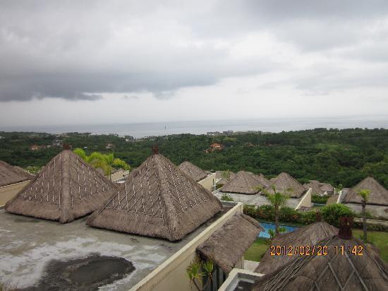 Chateau de Bali Ungasan: 高低错落的villa群