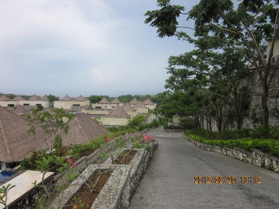 Chateau de Bali Ungasan: 度假村内