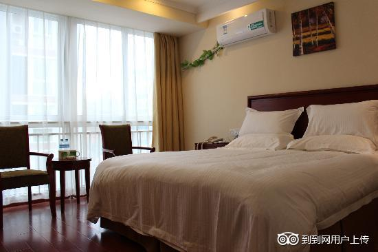 GreenTree Inn Xuyi Huaxia Business Hotel : 大床房
