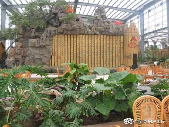 Chengqi Hotel: 生态餐厅大厅