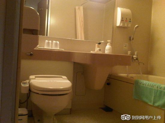 Olympic Inn Kanda: 洗漱间浴室