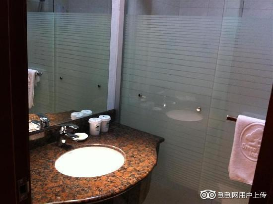 GreenTree Inn Wuxi Liangqing Road Wanda Square Express Hotel: 卫浴间