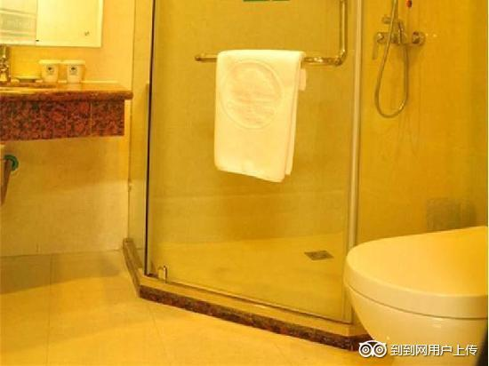 GreenTree Inn Nantong Hai'an Pearl City Express Hotel: 卫浴间