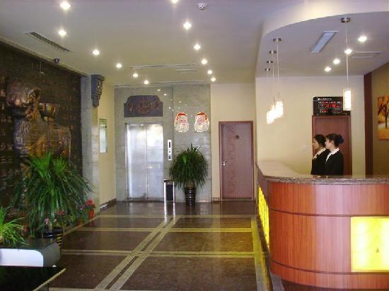 GreenTree Inn Cangzhou Jianshe Avenue Express Hotel: 前台