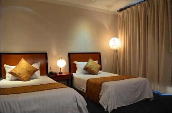 Shanghai Haigang Hotel (Haigang binguan) : 海港宾馆标准双人间