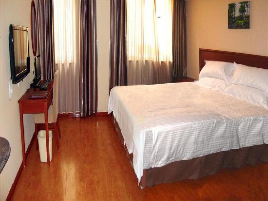 GreenTree Inn Heze Juye Middle Qingnian Road Express Hotel: 客房