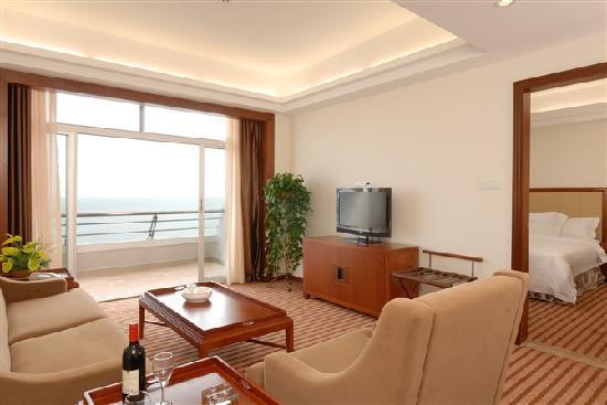 Xintao Resort: 海景套房