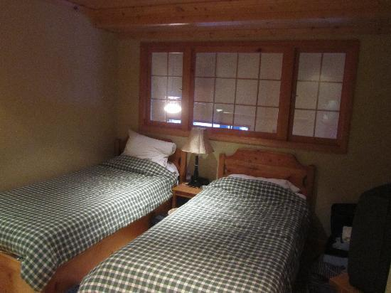 Glacier Lodge : 两小床  The two single beds