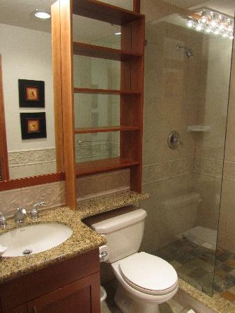 Glacier Lodge : 浴室  Bathrom