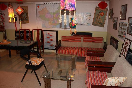 Pingyao Shangximen Hostel: 公共一角