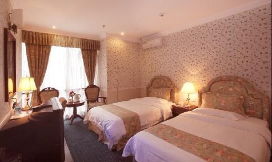 Oak Hotel Chongqing Yanghe: 绿色系标间