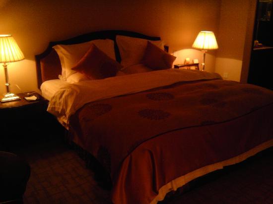 Telecom International Hotel : 舒适的大床2