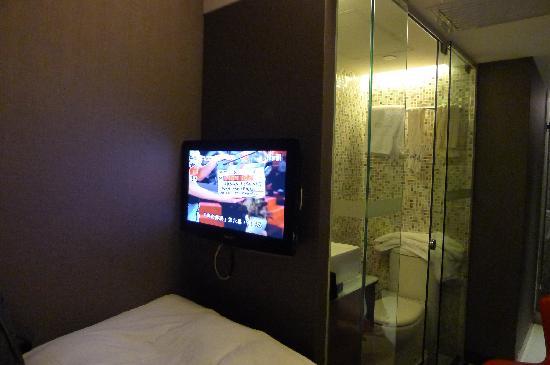 Hotel Bonaparte by Rhombus: 可以看有线电视