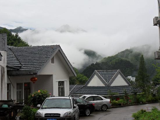 Mount Huangshan Fuli building Villa: 酒店外围