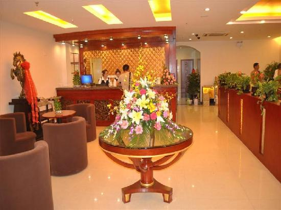 GreenTree Inn Shanghai Wujiaochang Business Hotel : 大堂