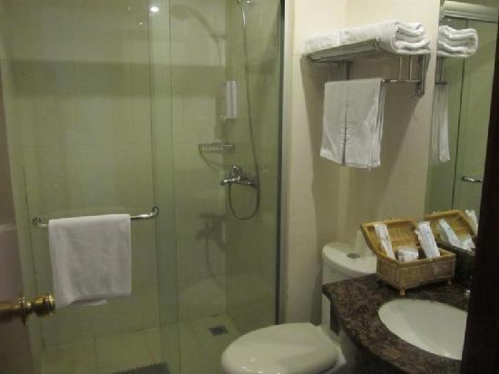 GreenTree Inn Suzhou Guanqian Street Business Hotel: 卫浴间