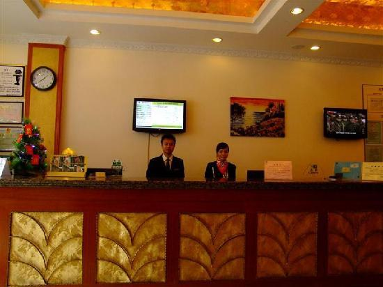 GreenTree Inn Nanning Dashatian Square Business Hotel: 前台