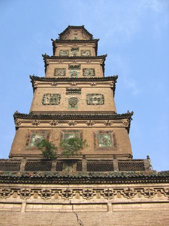 Linfen, Kina: 大云寺塔