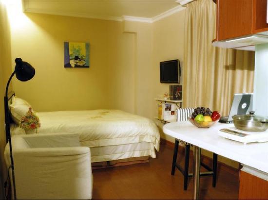 GreenTree Inn Beijing Guangmingqiao Express Hotel: 客房
