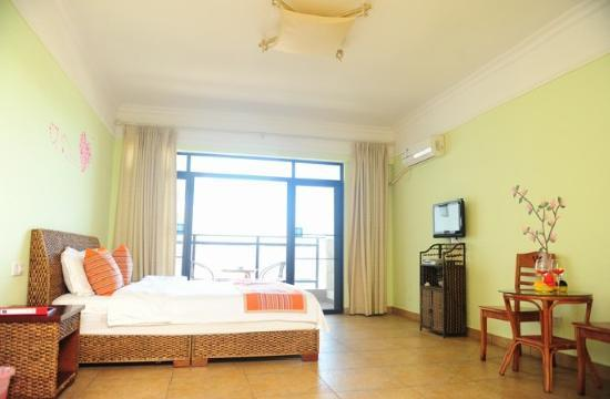 Xiaoyaoxuan Seaview Apartment Sanya Bay : 豪华海景大床房
