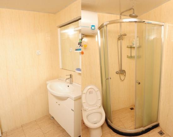 Xiaoyaoxuan Seaview Apartment Sanya Bay : 浴室