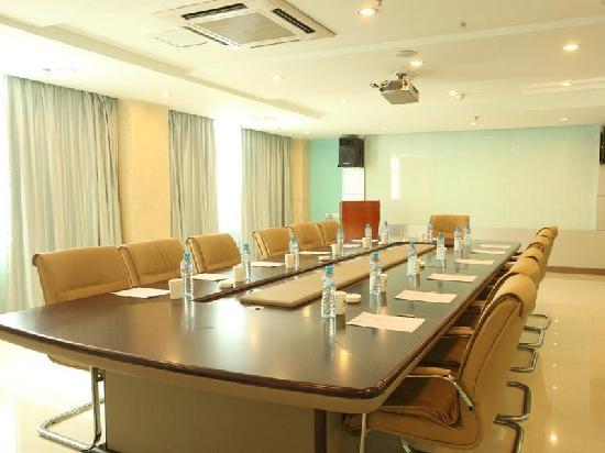 GreenTree Inn Shanghai Jinshan City Beach Business Hotel: 会议室