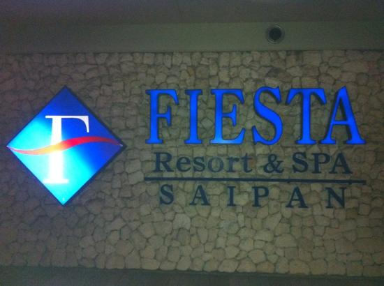 Fiesta Resort & Spa Saipan: 门口