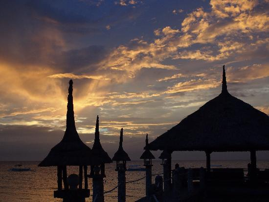 Dolphin-House Resort-SPA-Diving: sunset