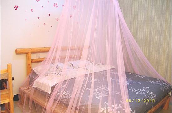 All Flowers Hostel: 情调大床