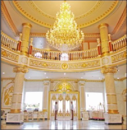 Royal Garden Hotel : 大厅