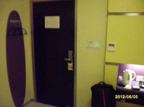 Motel 268 (Shanghai Yushan Road) : 大床间