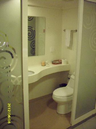 Motel 268 (Shanghai Yushan Road): WC