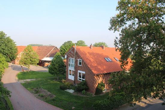 Park-Hotel Bilm im Gluck: 酒店窗外的风景